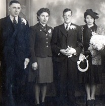 Esme Thompson (second from left)