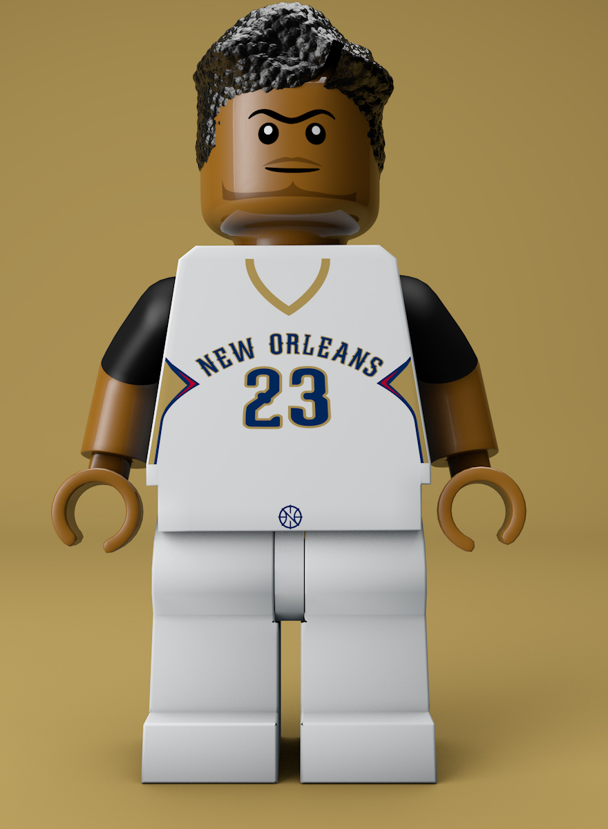 Final Product. Anthony Davis (Pelicans).