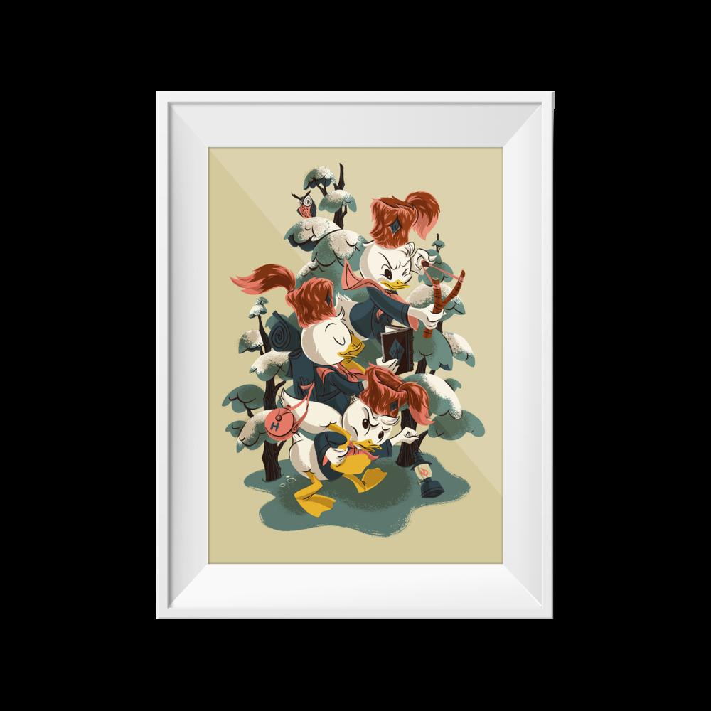 Ducktales | Anne Benjamin | 18 x 24