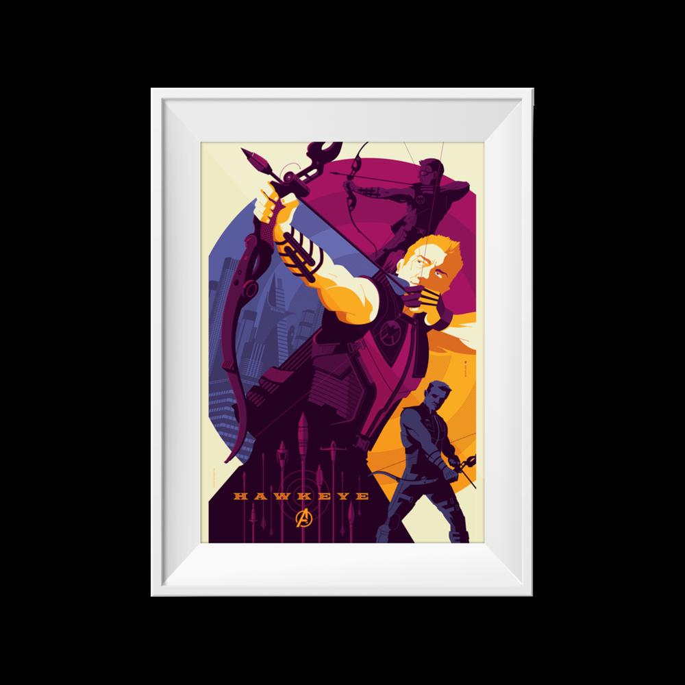 Hawkeye | Tom Whalen | 24 x 36