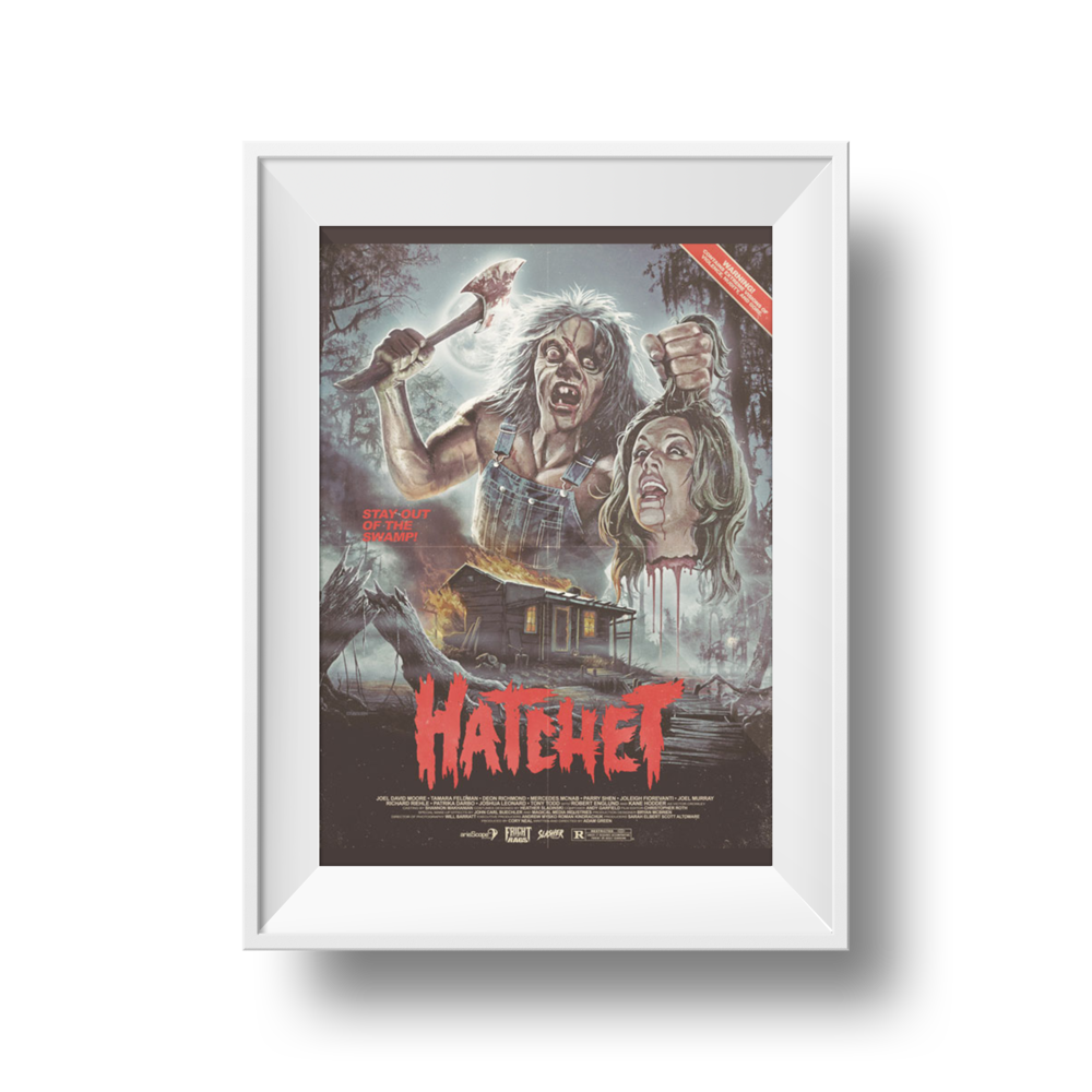 Hatchet | Frightrags | 18 x 24