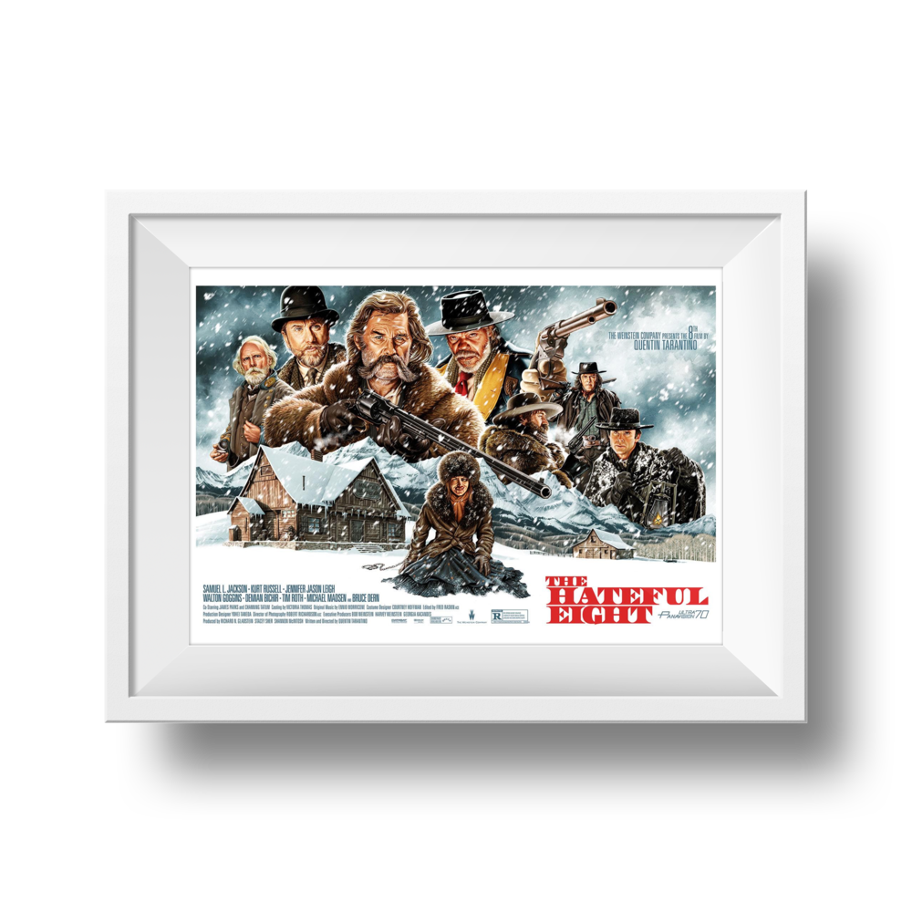 The Hateful Eight | Jason Edmiston | 24 x 36