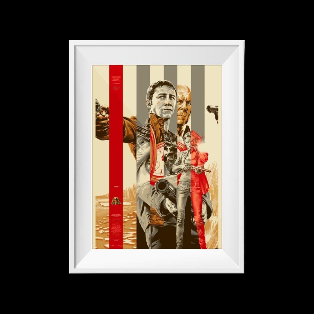 Looper (Gold) | Martin Ansin | 24 x 36