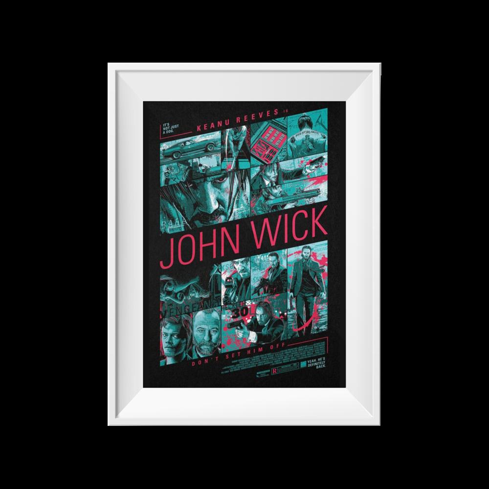 John Wick | Christopher Cox | 24 x 36