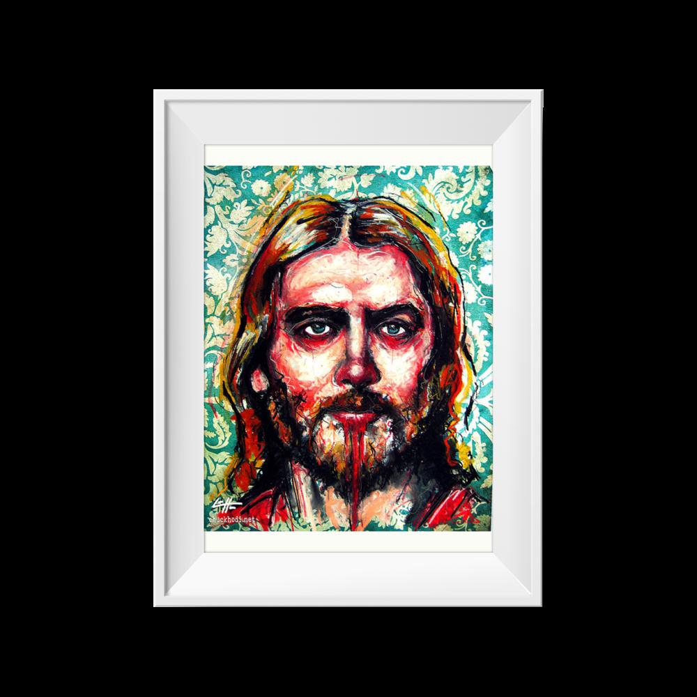 Jesus Christ | Chuck Hodi | 8 x 11