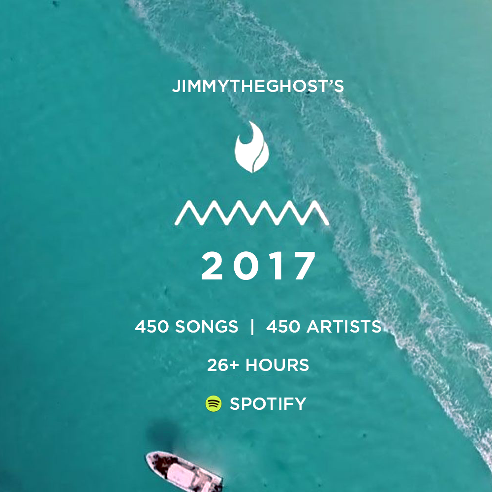 The 2017 Playlist -