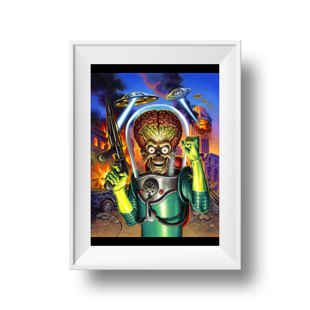 "Mars Attacks | Jason Edmiston | 18"" x 24"""