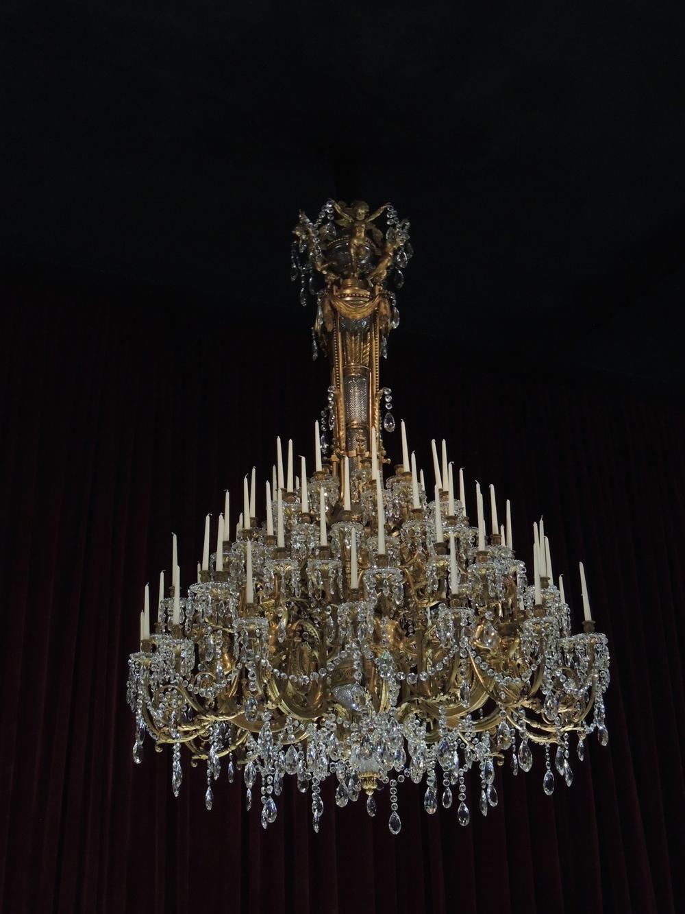 Baccarat Chandelier - Le Petit Palais And L'Hôtel Des Invalides — Honey  Bees & - Antique Baccarat Chandelier Antique Furniture