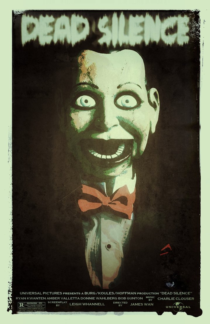Fans really do make the best posters as seen here with  Dead Silence Movie Poster   by    trickytreater