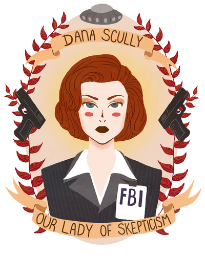 Dana Scully by Heymonster