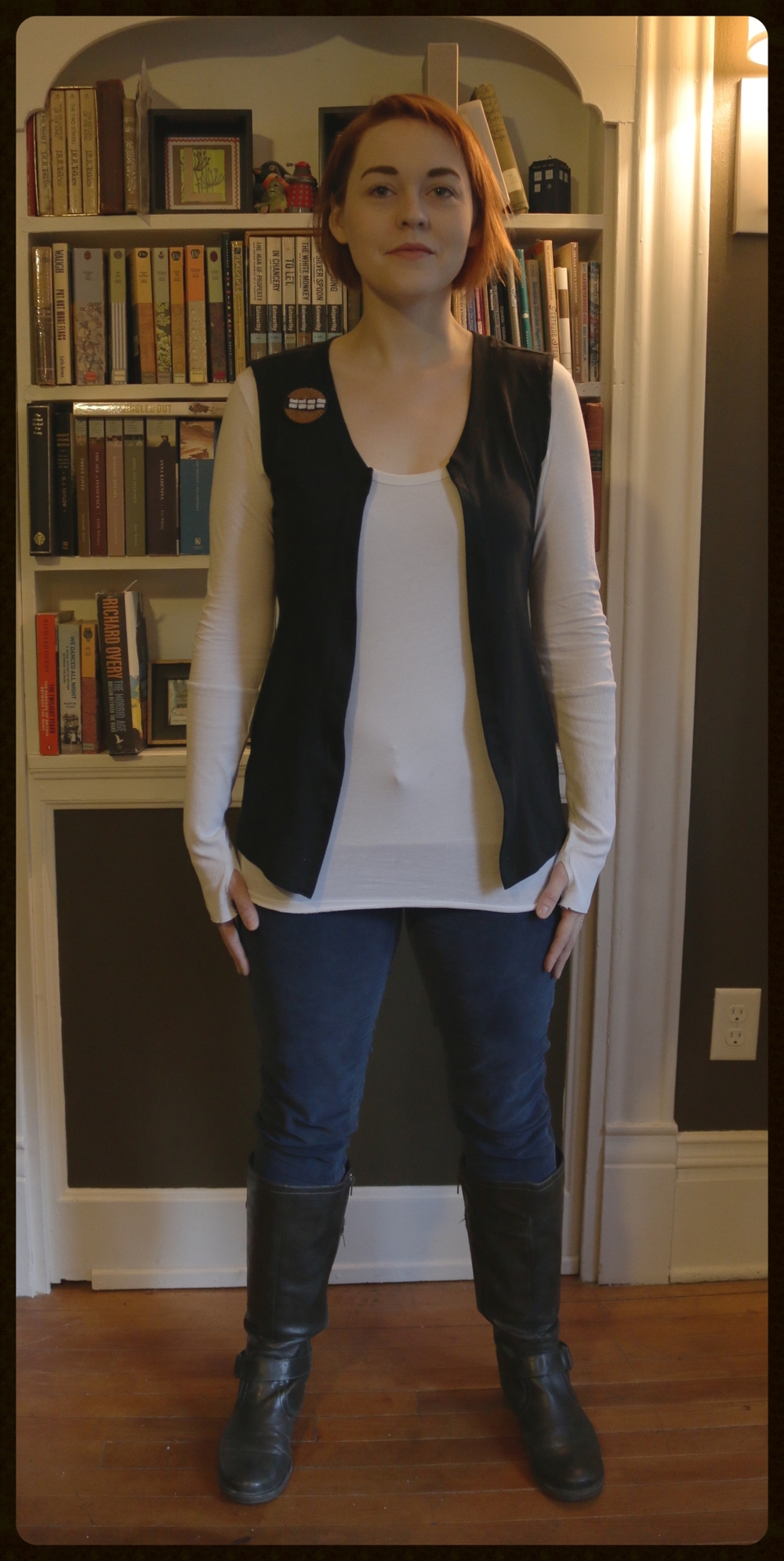 My fall interpretation of the perfect smugger turned rebel outfit.