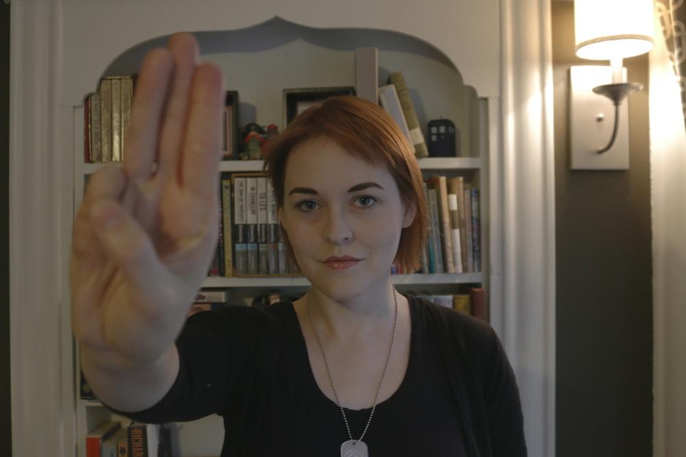 A Salute to the Mockingjay.