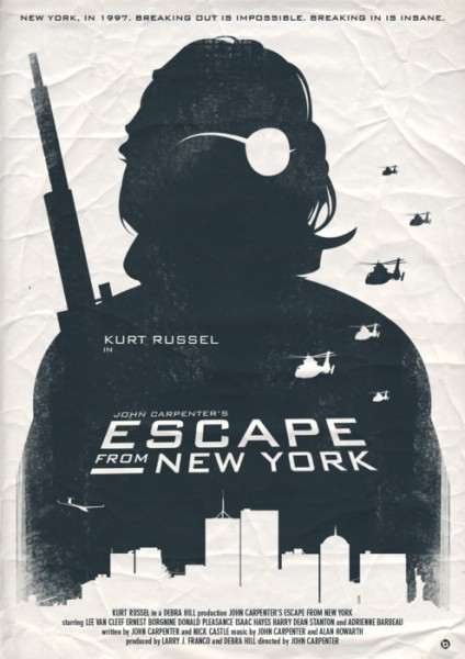 Fans really do make the best art:  John Carpenter's Escape From New York by Alain Bossuyt