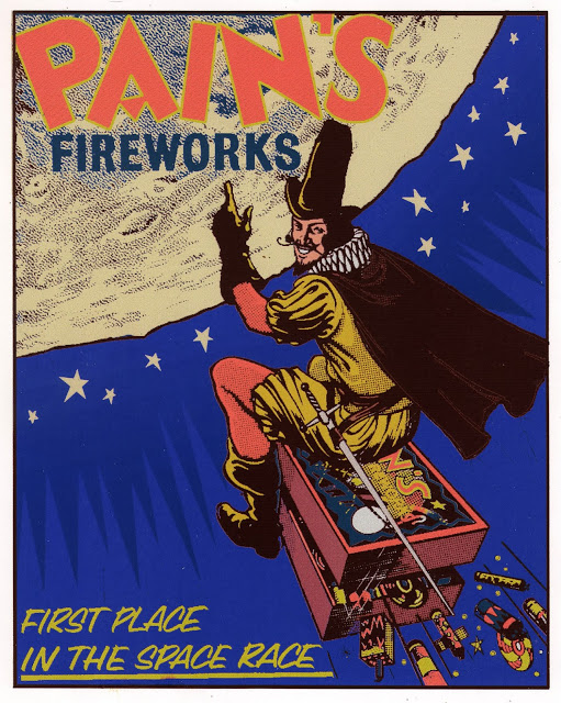 Even some firework ads get into the Guy Fawkes' spirit with their advertisement