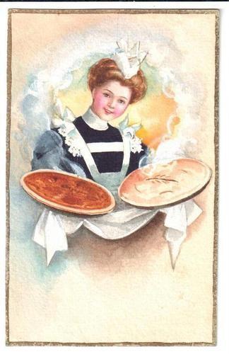 Nothing Says Thanksgiving Like Vintage Pie Cardigan Cravats
