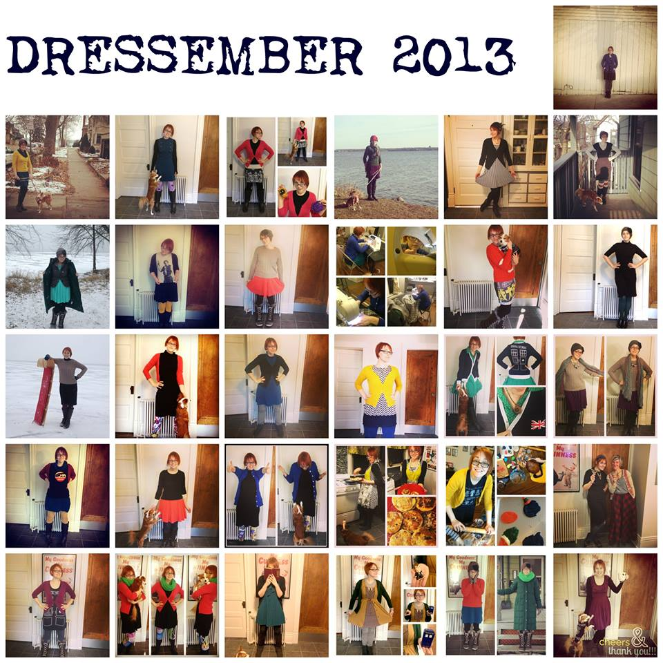 My 2013 Dressember campaign. I set out to raise $300 and ended up raising $960.