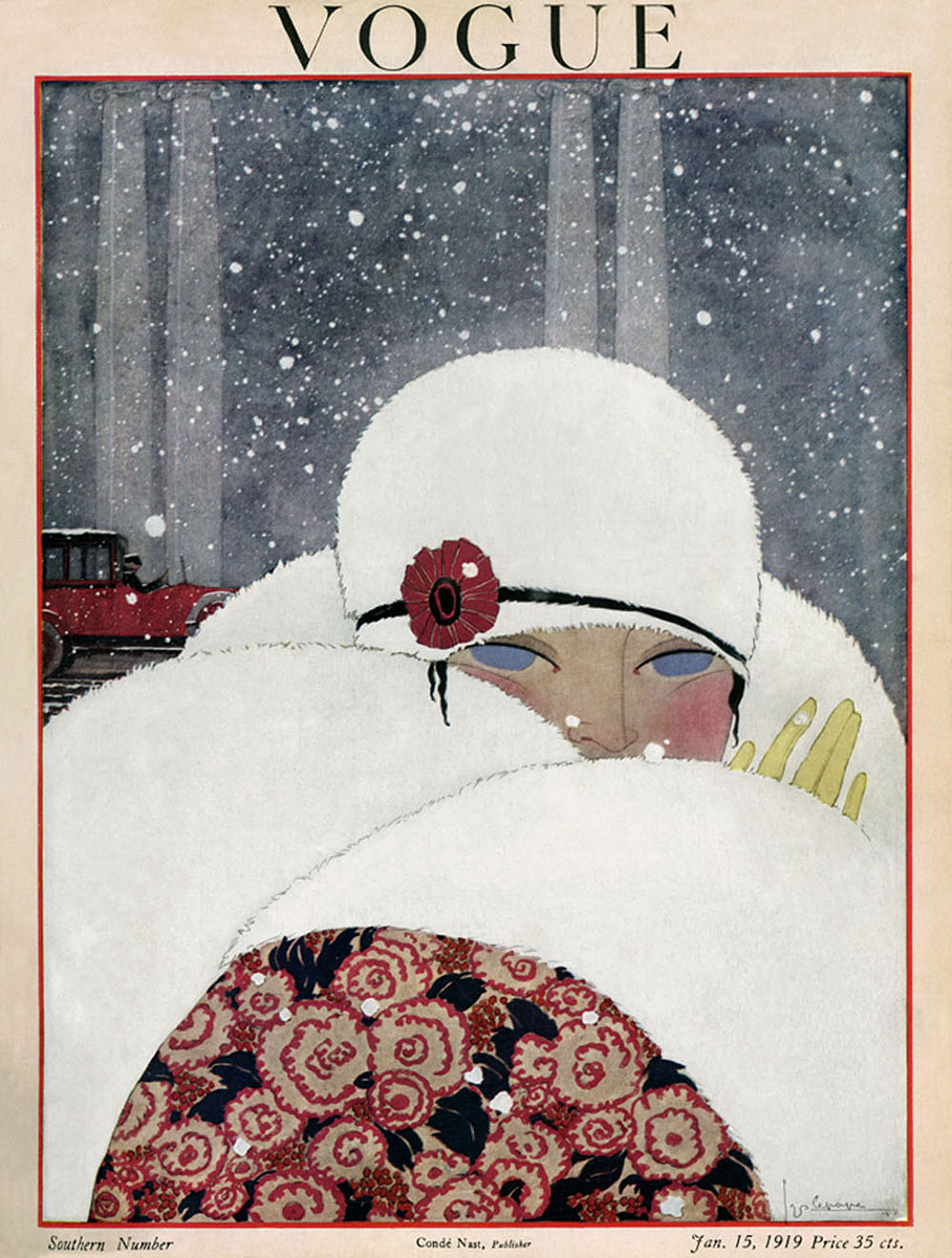 Illustrated by Georges Lepape, Vogue, January 1919