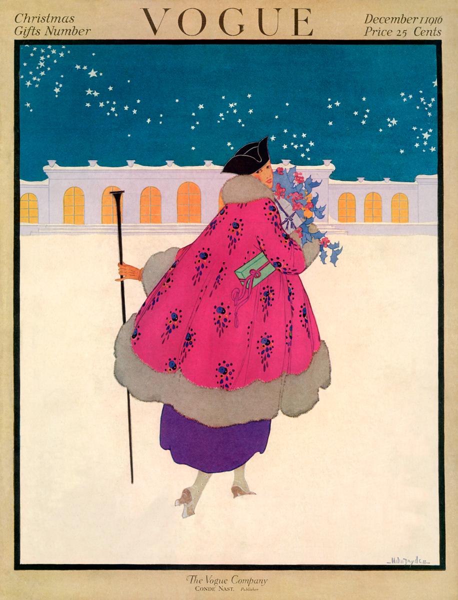 Illustrated by Helen Dryden, Vogue, December 1916