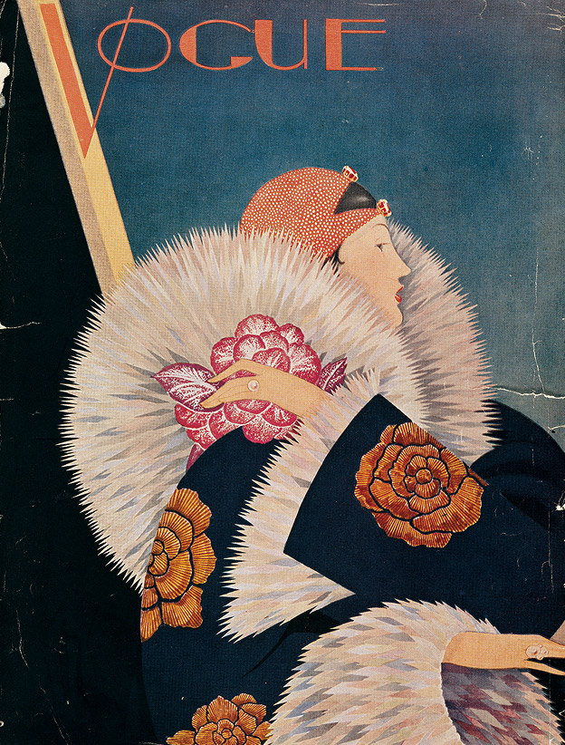 Illustrator Unknown. Vogue, January 1927.