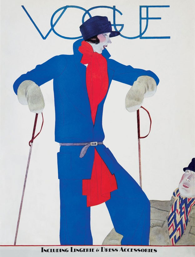 Illustrator Unknown. Vogue, December 1927.