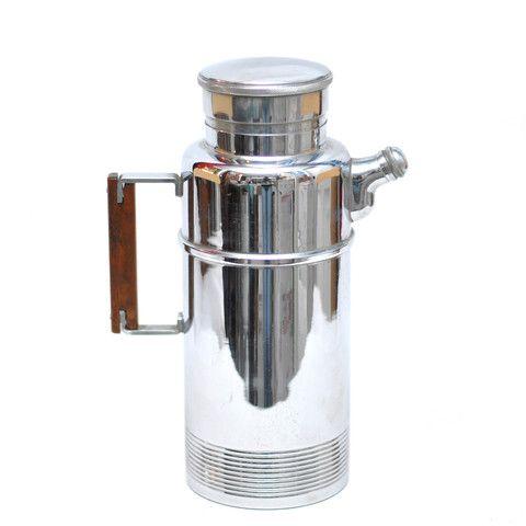 Art Deco Chromium Shaker
