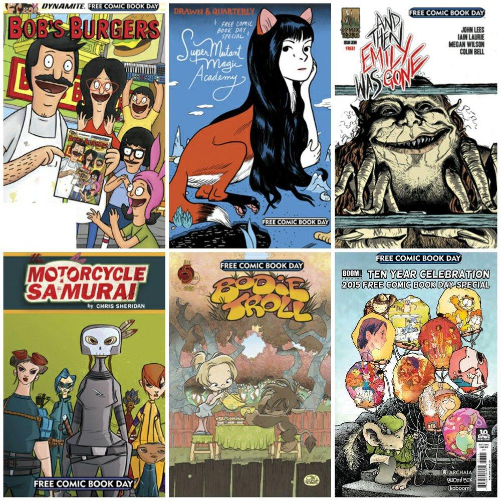 Free Comic Book Day, 2015