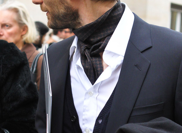 An example of simple, everyday style (image from  The insouciant cravat )