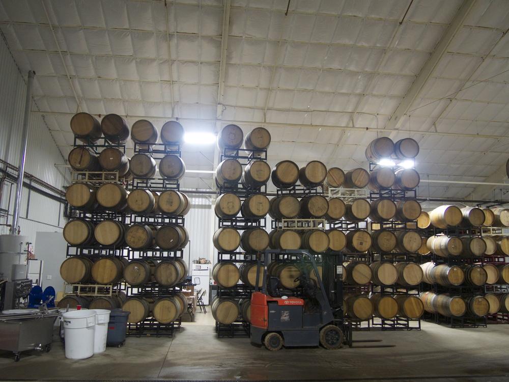 Cellar shot