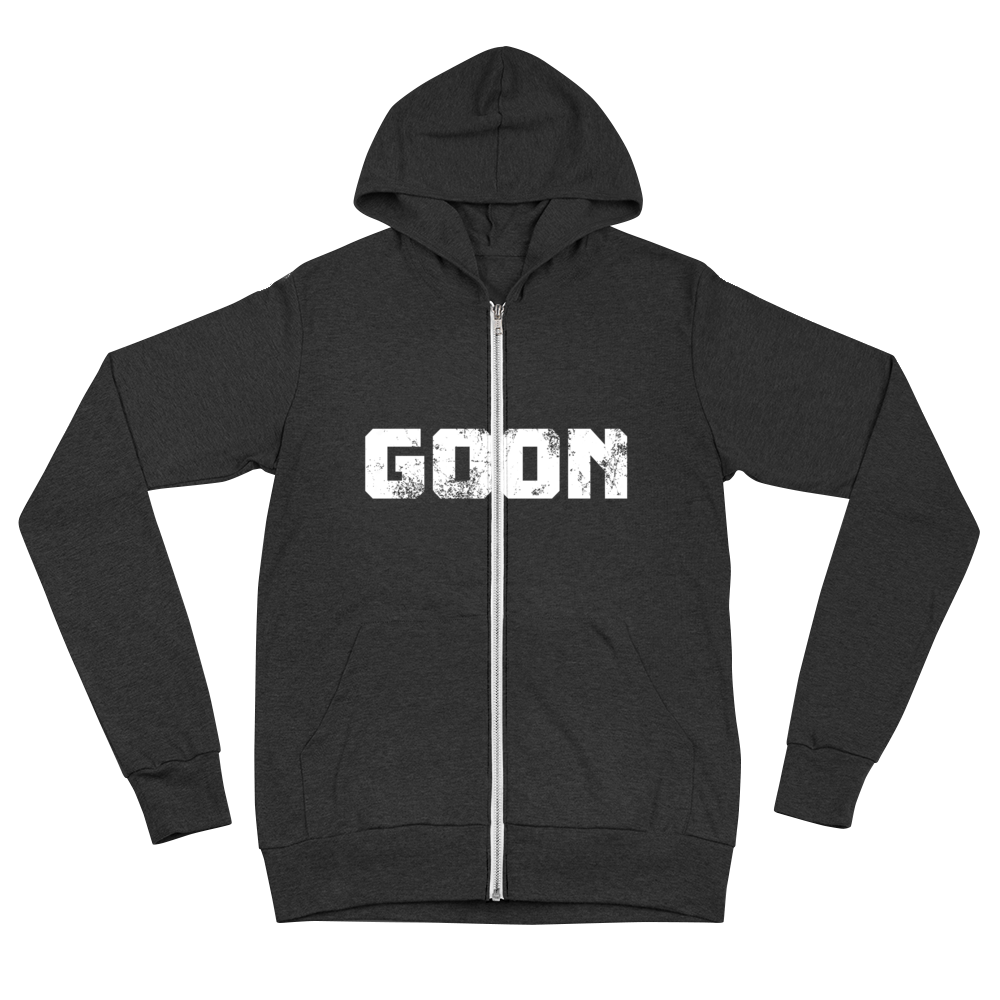 Goon Squad Worldwide Zip-up hoodie