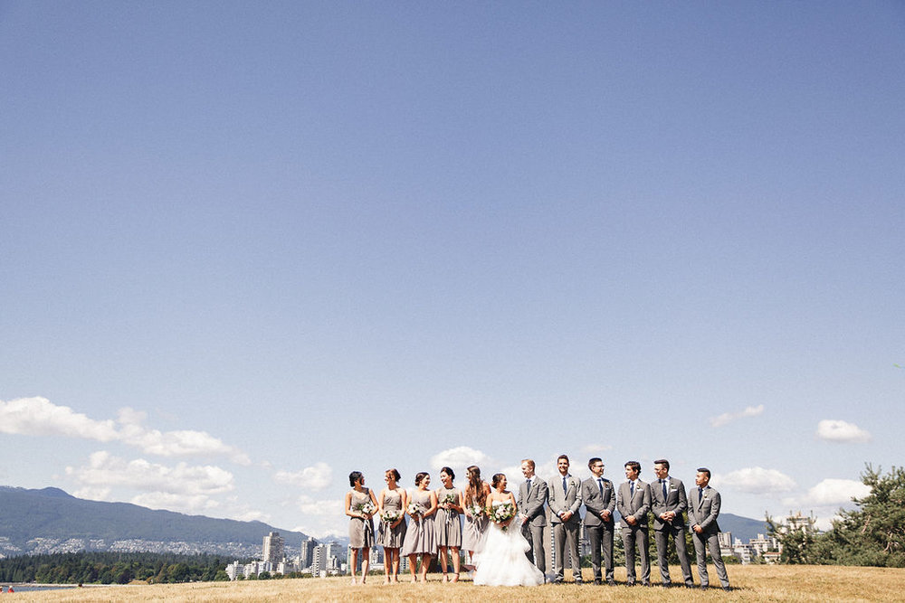 Keepsake Events Vancouver Wedding Party