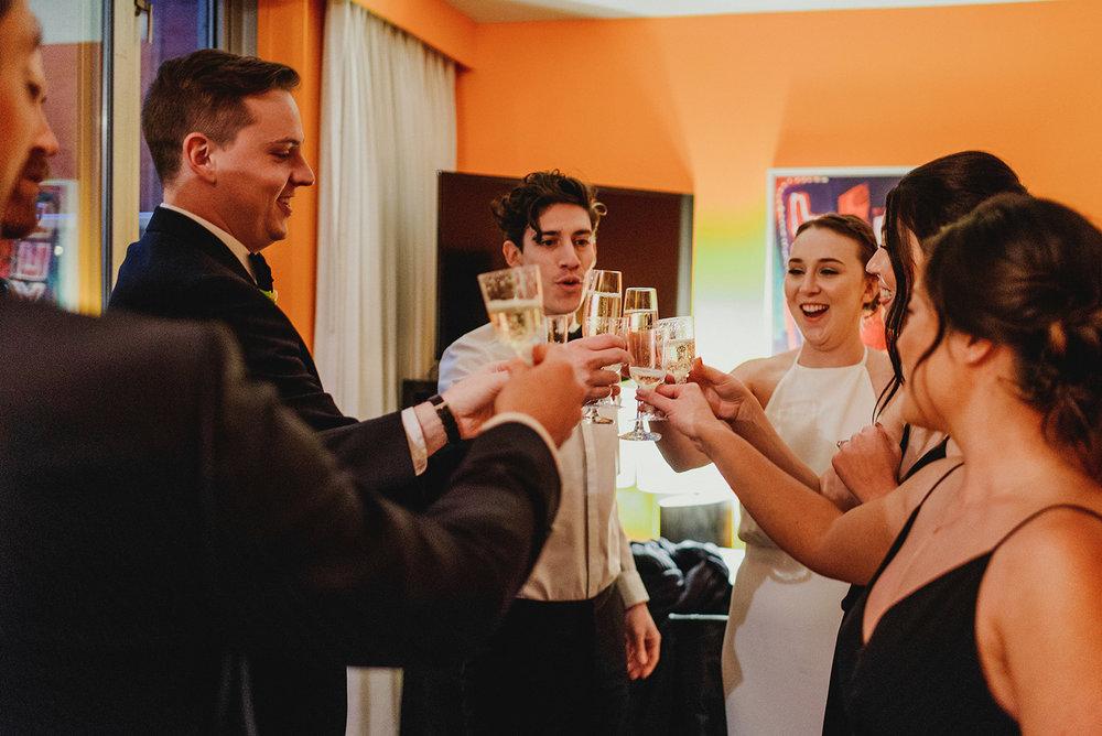 Keepsake Events Vancouver M&H Wedding Cheers