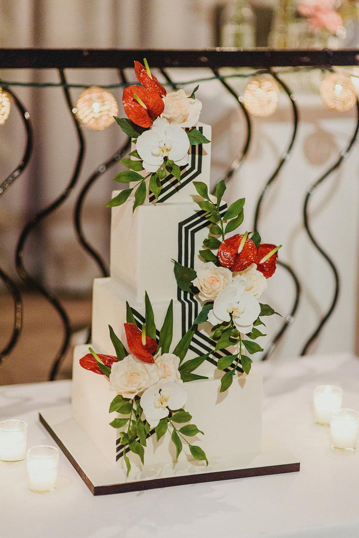 Keepsake Events Vancouver M&H Wedding Cake