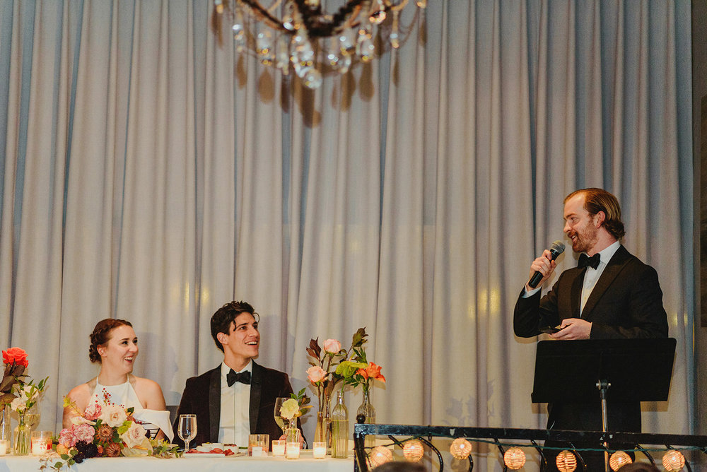 Keepsake Events Vancouver M&H Brix Wedding Reception