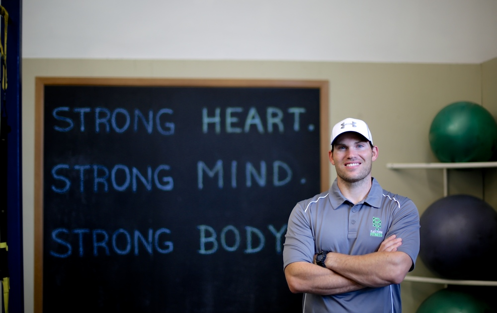 Meet  Nick Platt, owner and trainer at Plattform Fitness in south Charlotte, NC.