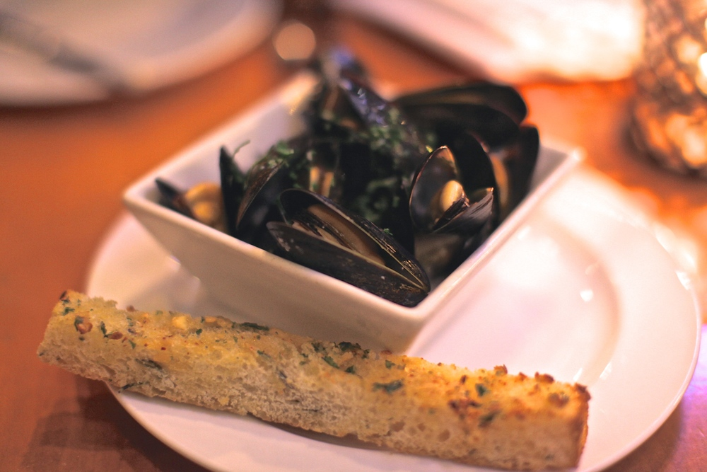 Steamed Mussels $12