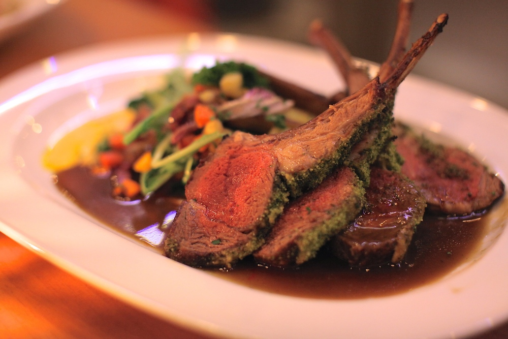 Rack of Lamb $34