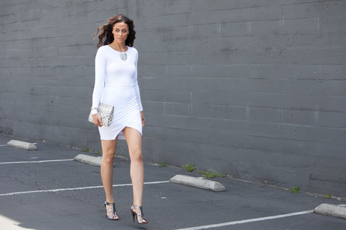 Alicia Jay Tall Style ASOS White Dress 4.jpg