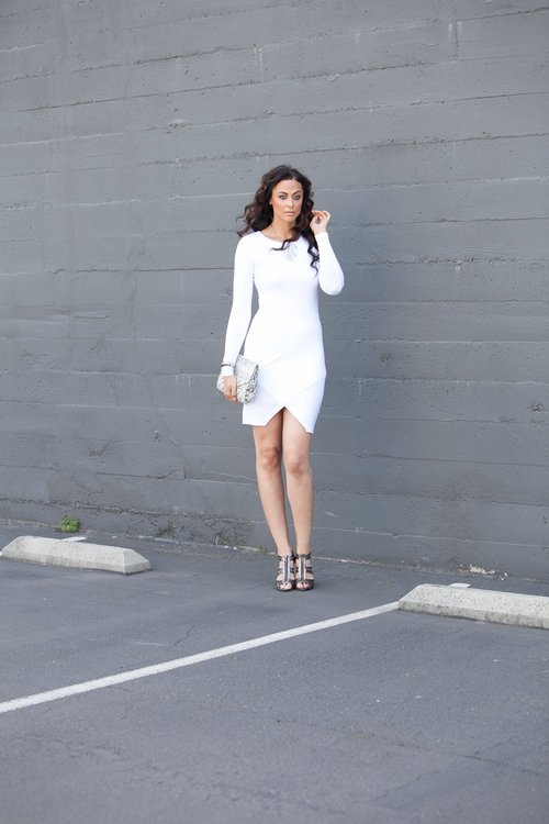 Alicia Jay Tall Style ASOS White Dress 2.jpg