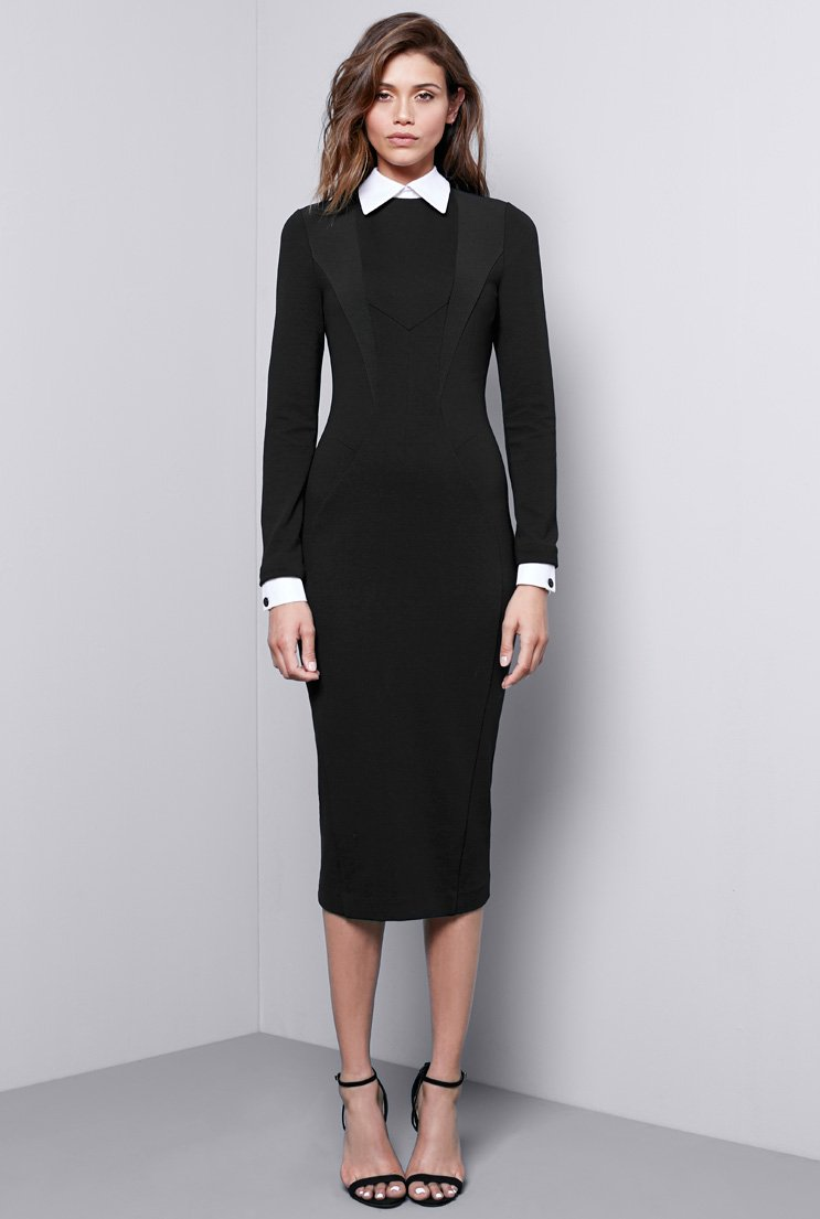 REMOVABLE COLLAR DRESS