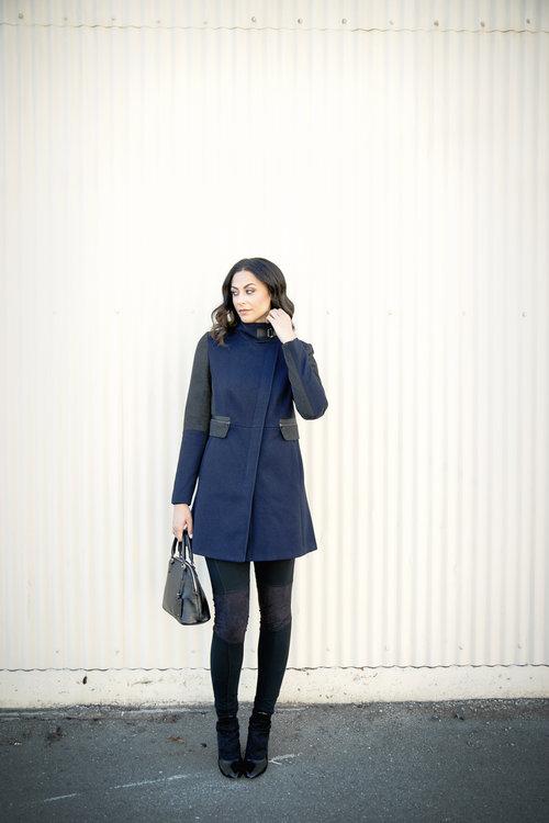 Alicia Jay Next Clothing Clean Zip Coat Tall Style  TallSWAG 6.jpg