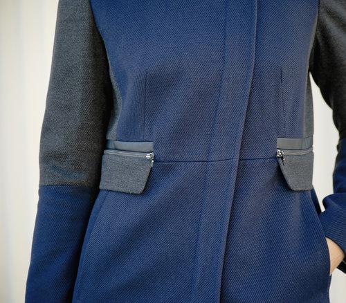 Alicia Jay Next Clothing Clean Zip Coat Tall Style  TallSWAG 3.jpg