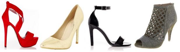 Roxy (sizes 10-13) - Smash Shoes/Natasha (up to size 13) - Alloy Apparel/Plei (sizes 10-13) - Smash Shoes/Women's Caged Peep Toe Pump (up to size 13) - Payless