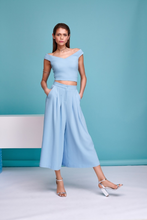 Crop Top and Culotte