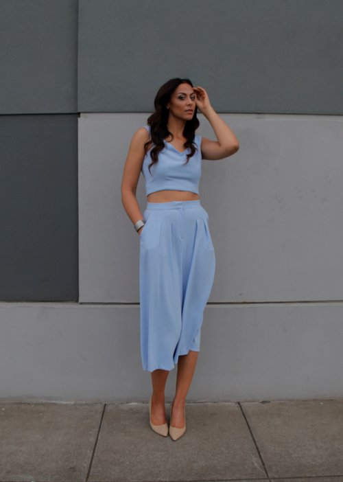 Taller Than Your Average Long Tall Sally TTYA4LTS Culottes Crop Top 1 Summer Capsule Collection range Alicia Jay Tall Swag TallSWAG Style Fashion Look 1.jpg