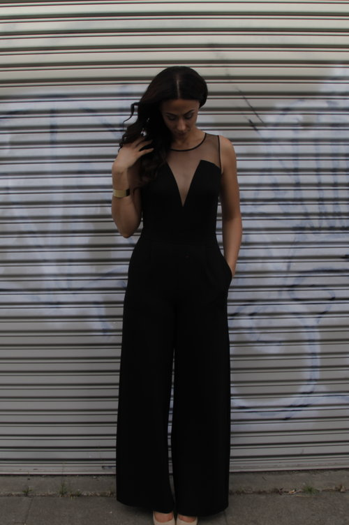 TTYA4LTS Summer Capsule Collection: Culotte/Crop Top/Eyelet Mesh Pencil Skirt/Sheer V-Neck Jumpsuit  Want the shoes in the post?  Long Tall Sally has a similar option up to size 14 HERE . They are on back order but well worth the wait.  Photo Credit:  Jay Cox