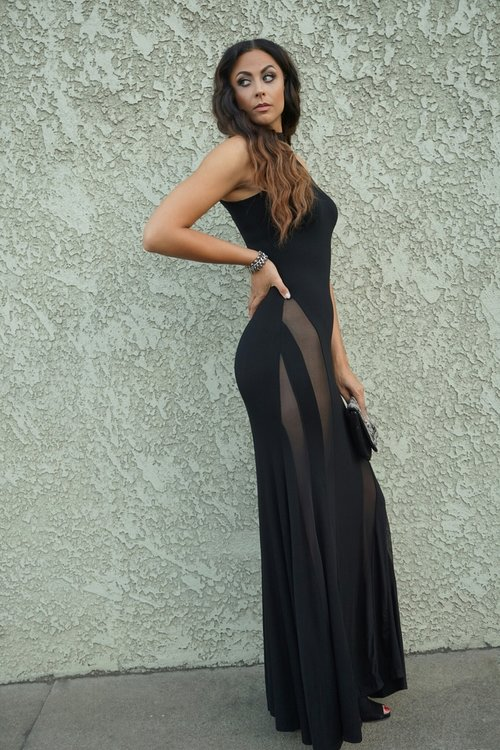 Alexia Maxi Dress (shown in size L) - The Height/Shoes (size 12) - Nine West/Bracelet and Clutch - H&M/Ring - Forever 21 Photo Credit: Nikki Notarte