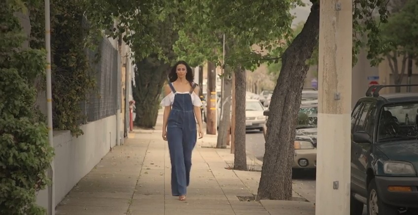 TTYA X LTS Denim Jumpsuit - Long Tall Sally/TTYA X LTS Bobble Trim Crop Top - Long Tall Sally