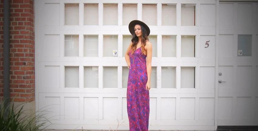 Kacy Maxi Dress - Height Goddess/Heart Necklace - Candid Art/Hat - Forever 21