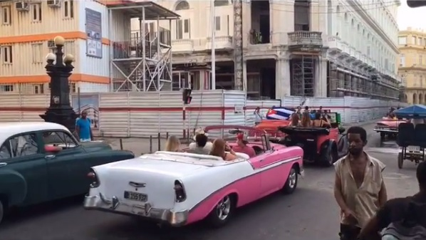 I instantly fell in love with Havana! Click the pic for a video clip of these classic cars in action.