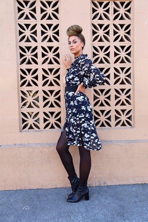 Long tall sally shirt dress